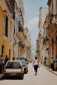 woman-walking-in-havana-during -the-day-is-cuba-safe