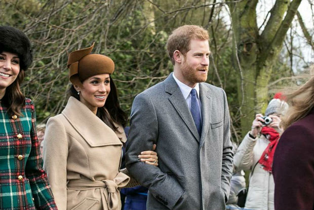 royal-wedding-blog-featuring-photo-of-meghan-markle-prince-harry-and-catherine-at-christmas-2017