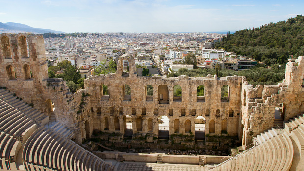 Greek island cruises - Photo of the Odeon of Herodes Atticus
