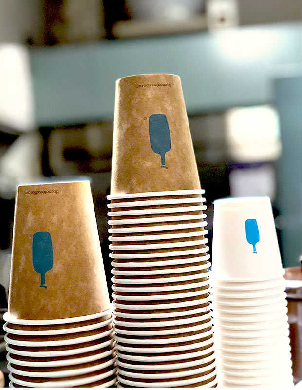 coffee cups from ferry building marketplace