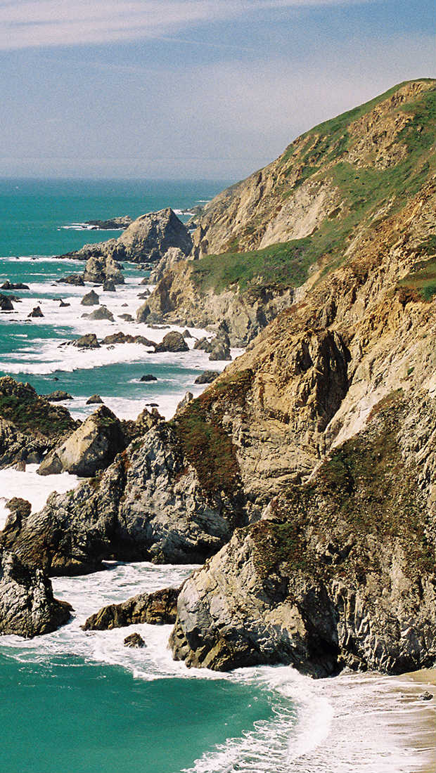 Best beaches in California - Photo of Point Reyes