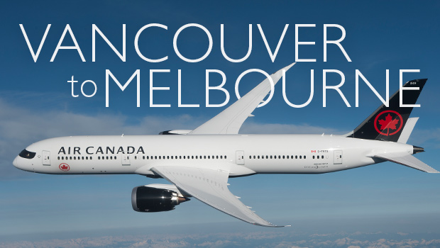 air canada announces new flights to australia from vancouver
