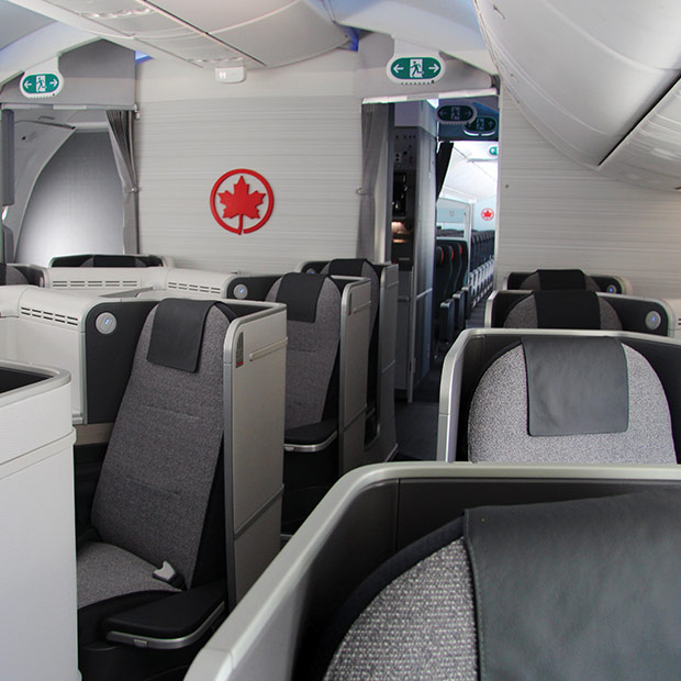 Business Class Seats - Air Canada's Boeing 787-9 Dreamliner