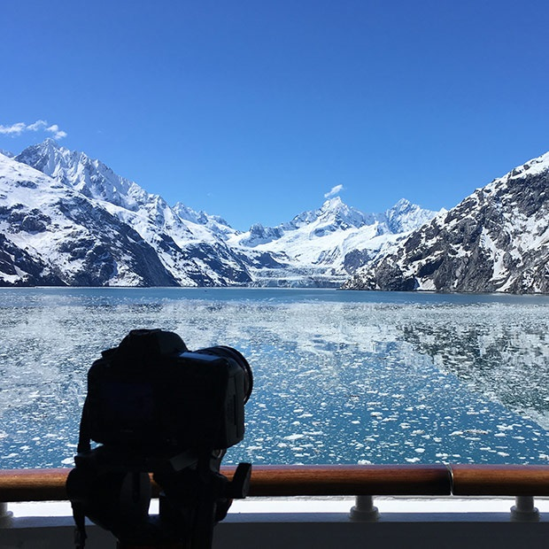 Alaska Cruise Ship View