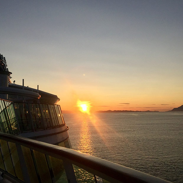 alaska-cruise-sunset