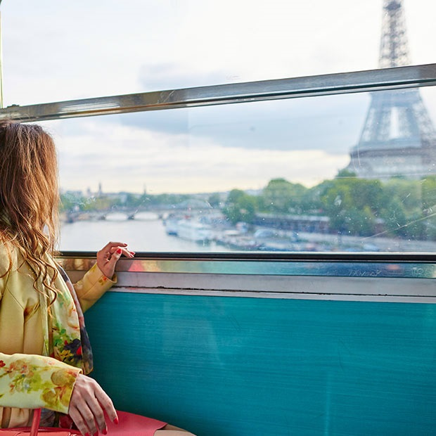 How to Plan a Trip to Europe - On a train