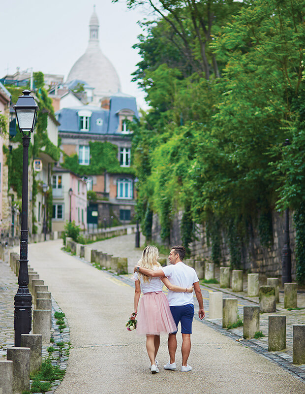 Things to Do in Paris - Couple taking a walk