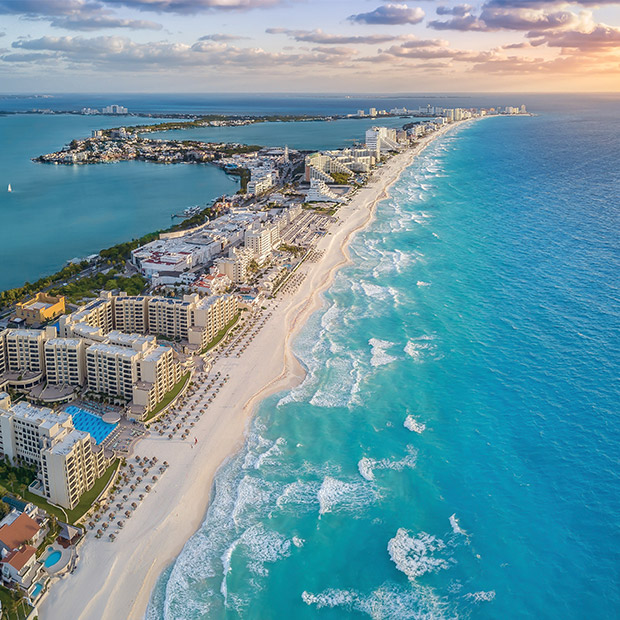Better Beach Cancun Hotel Zone beaches