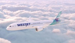 Westjet new B787-9 Dreamliner