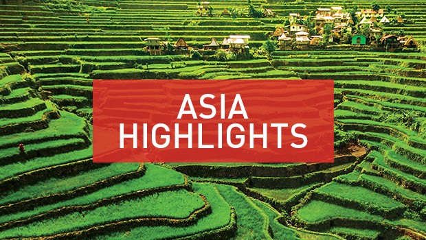 Asia highlights rice terrace Philippines