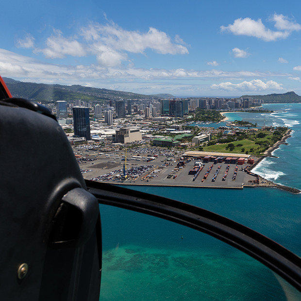 Hawaii Oahu helicopter tour
