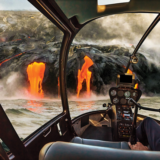 Hawaii volcano helicopter tour