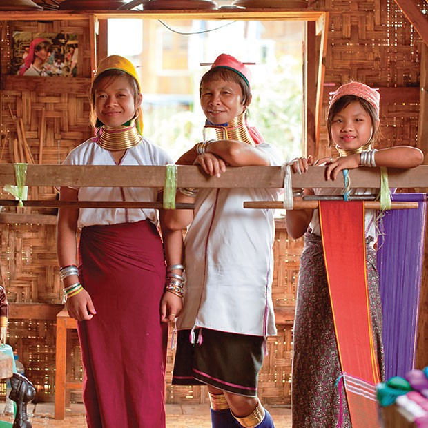 Chiang Mai's long neck hill tribes