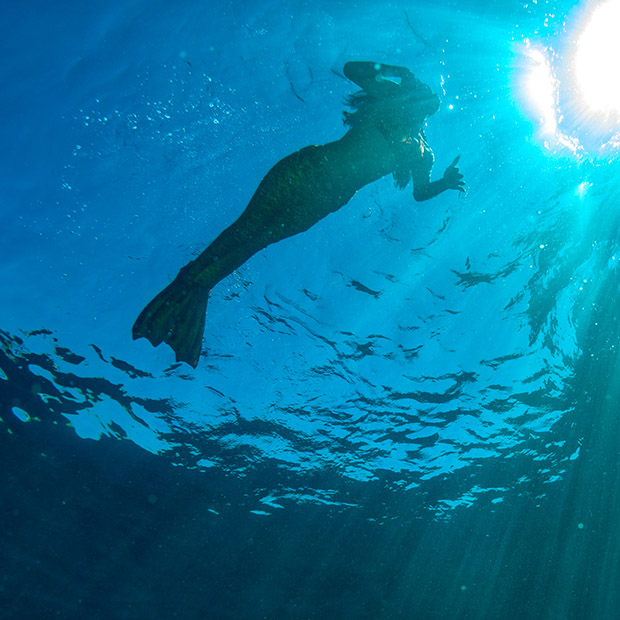 Things to do in Hawaii with kids, be a mermaid