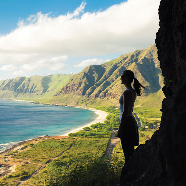hiking and camping in Oahu