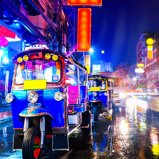 Explore the cities of Thailand