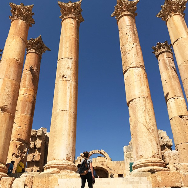 Highlights of Jordan Jerash columns