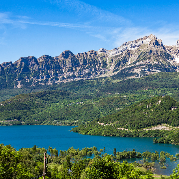 mountains in the pyrenees, spain