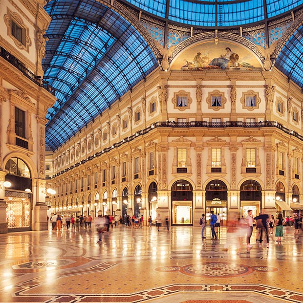 Grand Galleria Vittorio Emanuele II in Milan