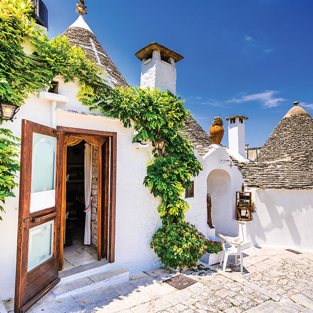 Alberobello houses