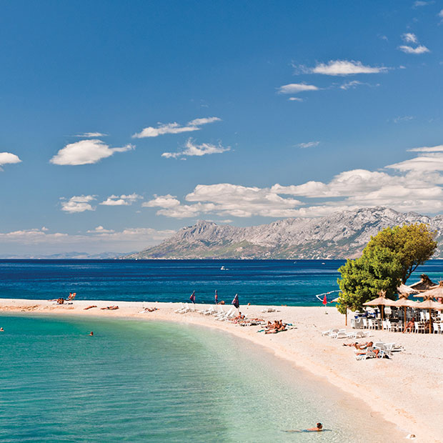 beach, Makarska, Croatia