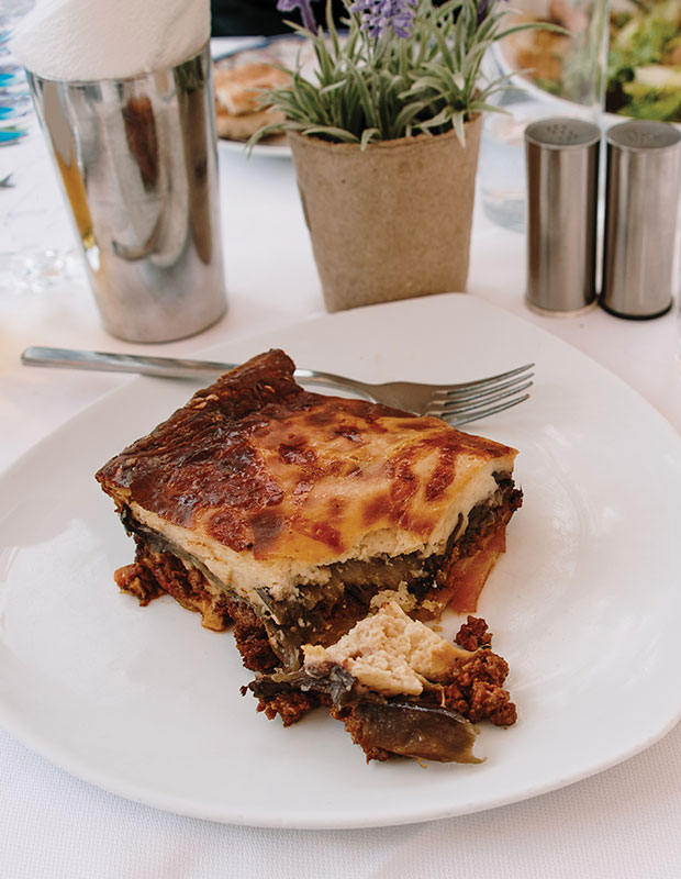 Better Beach Greece best traditional Greek food moussaka