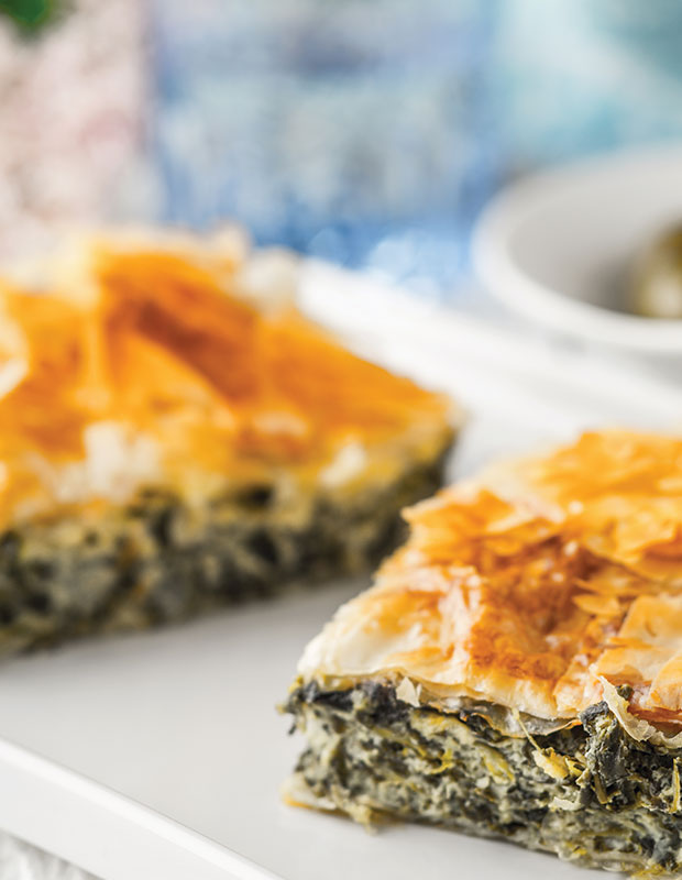 Better Beach Greece best traditional Greek food spanakopita