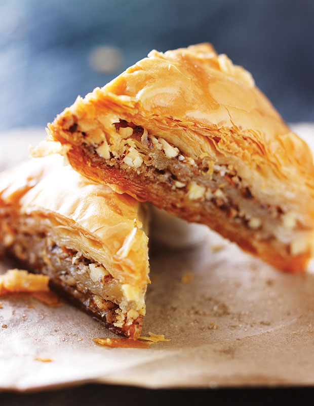 Better Beach Greece best traditional Greek food baklava
