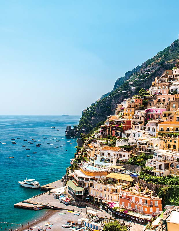 Breathtaking Amalfi Coast hillside