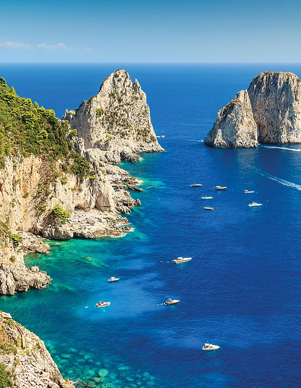 Capri and the Blue Grotto