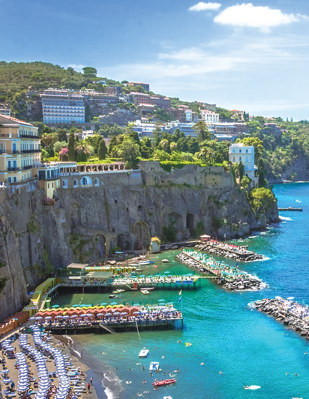 Amalfi Coast city of Sorrento