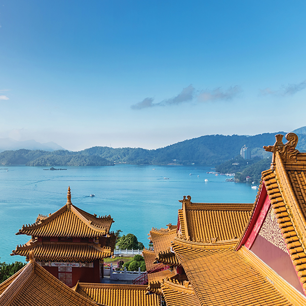LGBTQ+ travel Taiwan Sun Moon Lake