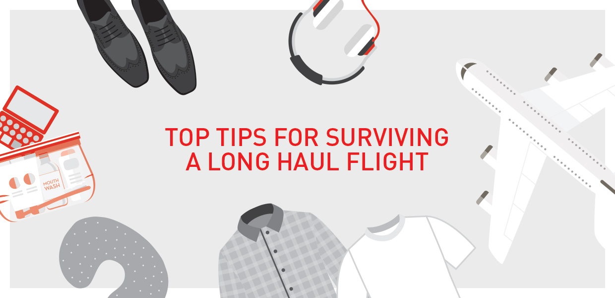 how to survive long haul flight