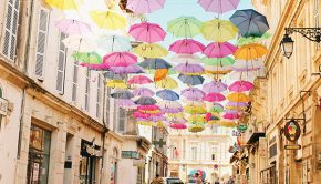umbrellas in france