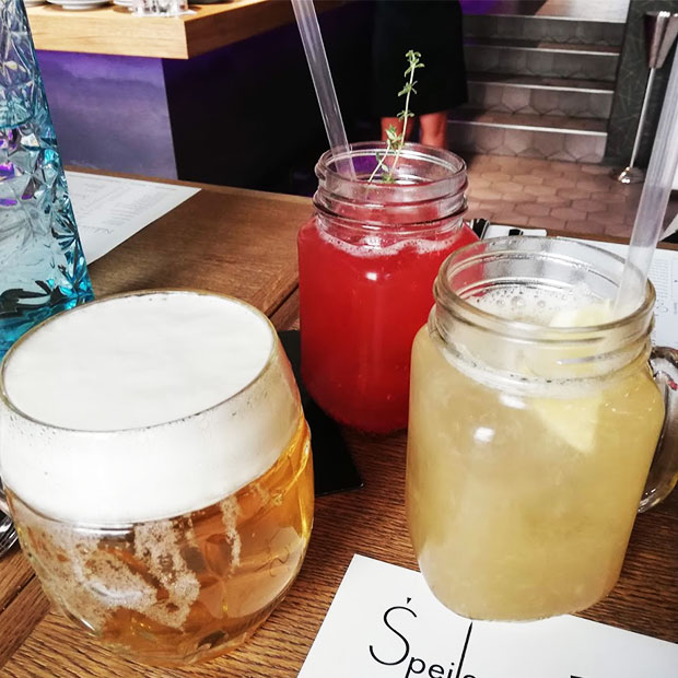 Speile house-made sodas and beer