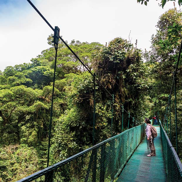 Tour Costa Rica's national parks