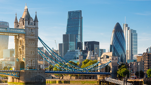 Business travel in London