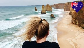 Overlooking the 12 Apostles in Australia