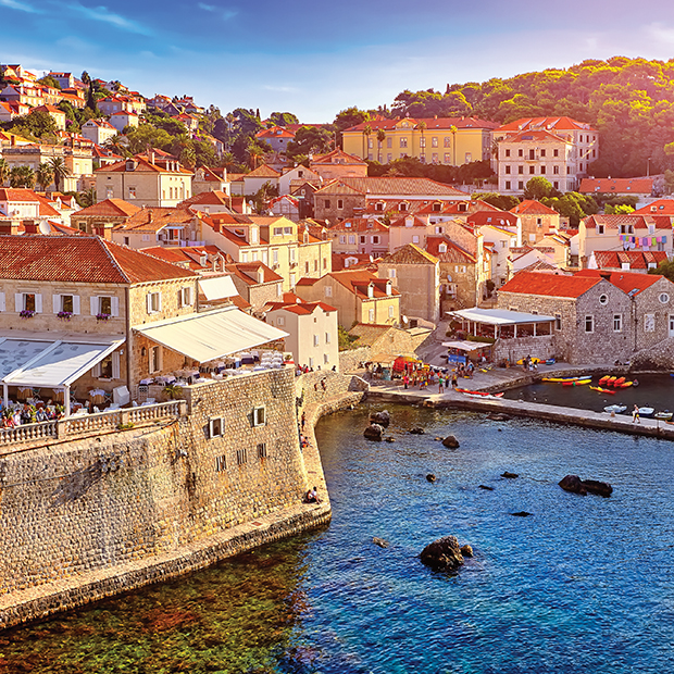 The historic city of Dubrovnik