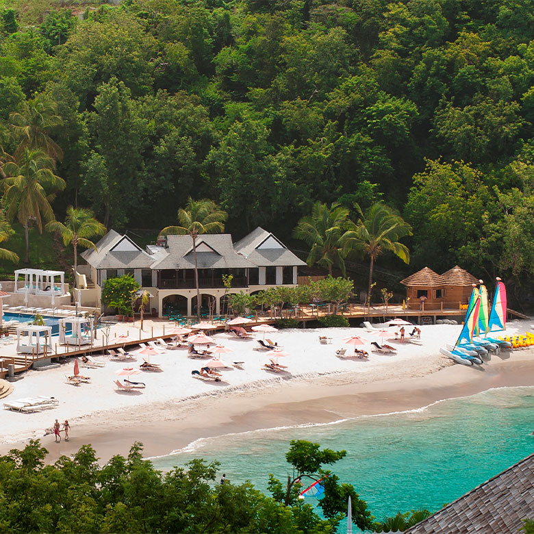 Beach at The BodyHoliday resort and spa