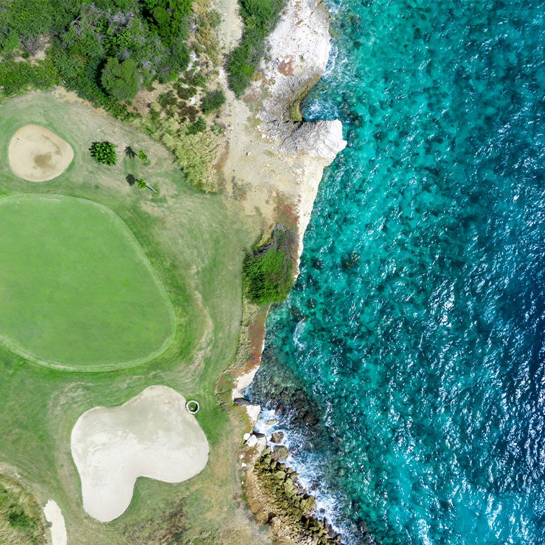 Aerial view of Grand Coral Golf Club