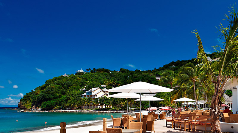 beachfront restaurant bodyholiday saint lucia