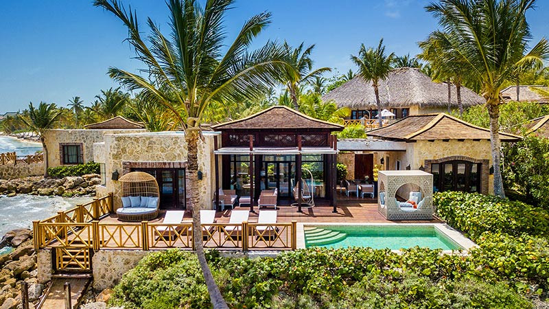 luxury villa with pool sanctuary punta cana