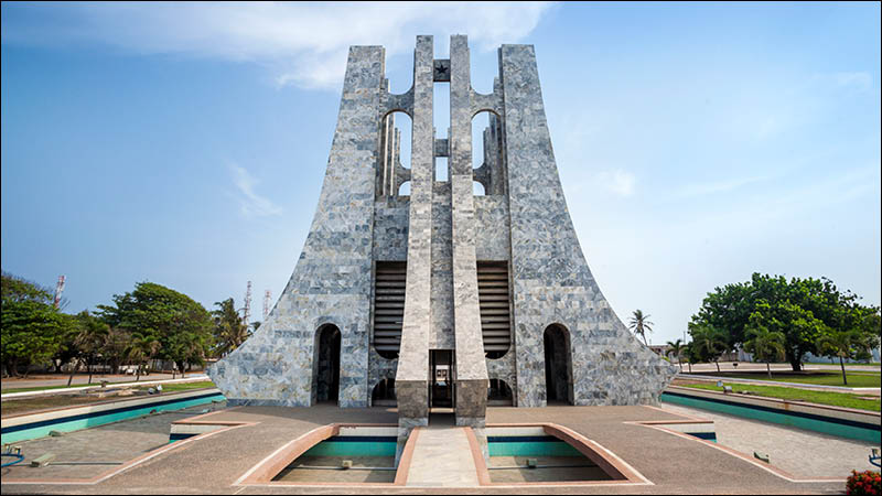 monument in accra ghana